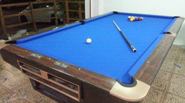 Thailand Used 9ft Pool Table For Sale