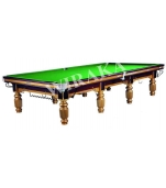 M1 Tournament Gold Steel Block Table