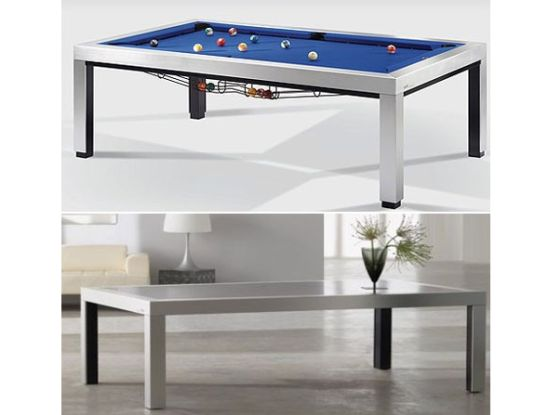 Genial This Convertible Pool Table Can Be Used As An Elegant Center Table As Well  As For The Game Of Billiards. Designed By Bernard Moise, This Design Is One  Of ...